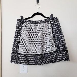 J. CREW Metallic Brocade Skirt